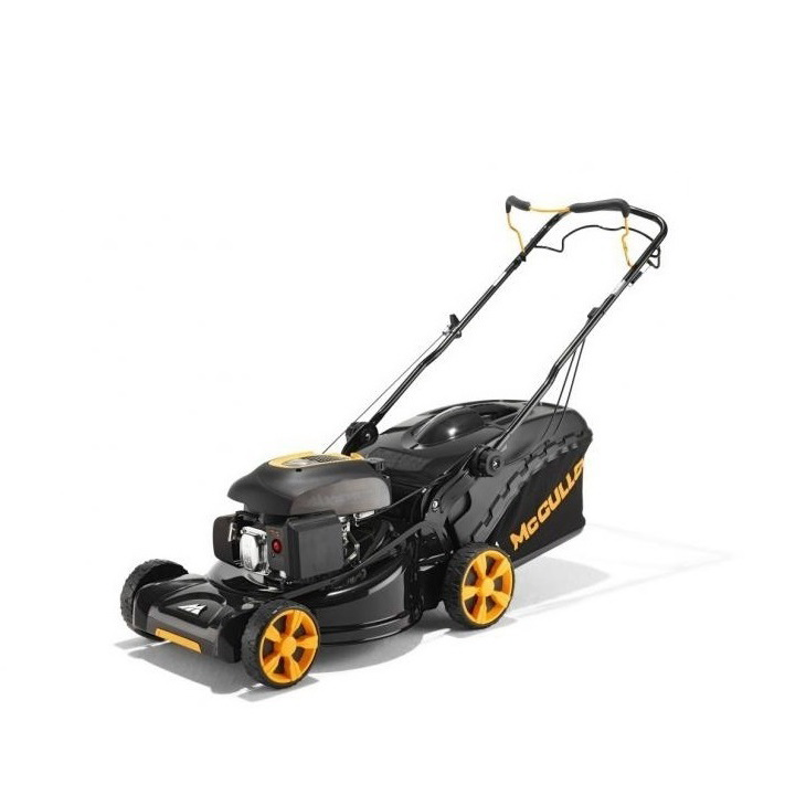 mcculloch m51 140rx petrol lawn mower 3 in 1 mower collector mulcher 51cm 20in cutting width. Black Bedroom Furniture Sets. Home Design Ideas