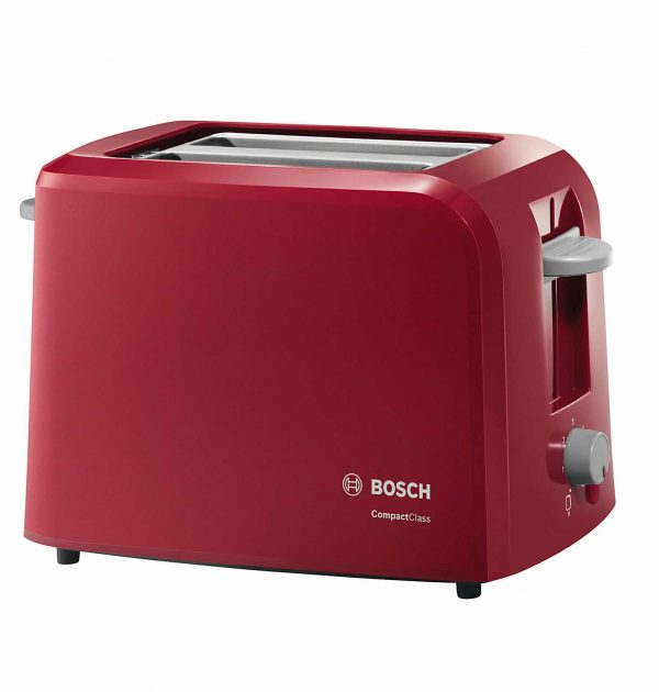 Bosch TAT3A014GB Village Collection Toaster red