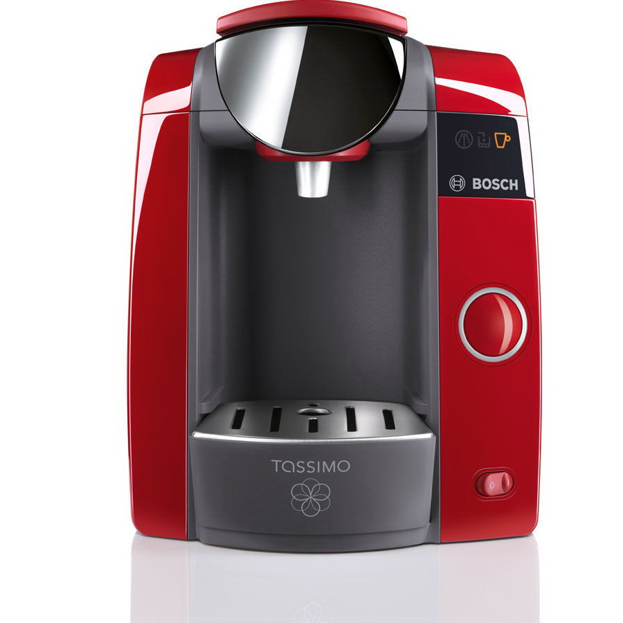 bosch tassimo joy t43 red coffee machine tas4303gb around the clock offers. Black Bedroom Furniture Sets. Home Design Ideas