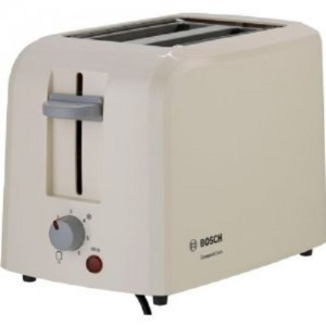 Bosch Village Collection 2 Slice Toaster Beige TAT3A017GB