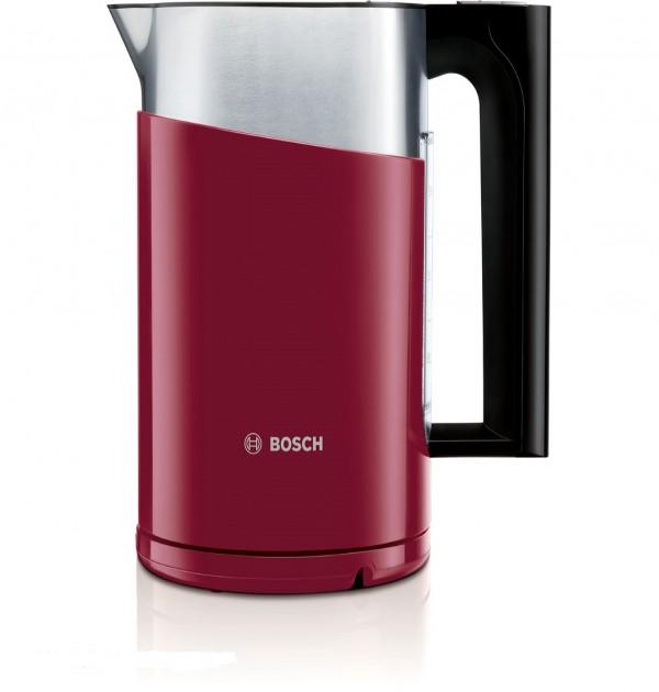 Bosch Styline Collection Cranberry Red Digital Kettle TWK86104GB