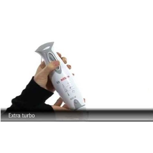 Bosch Hand Blender 600W Stainless Steel Foot MSM6700GB