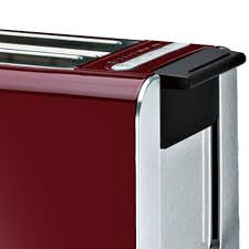 Bosch Styline Collection Toaster Sensor Digital Cranberry TAT86104GB