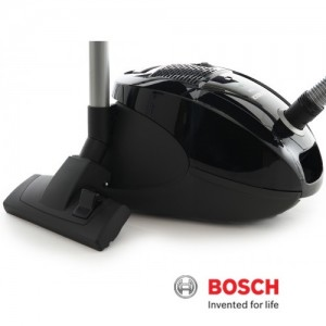 Bosch ECO Pro Energy Vacuum Cleaner Cylinder Black BSGL3126GB
