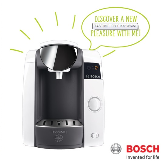 Bosch Tassimo Joy Multi Beverage Machine White TAS4304GB