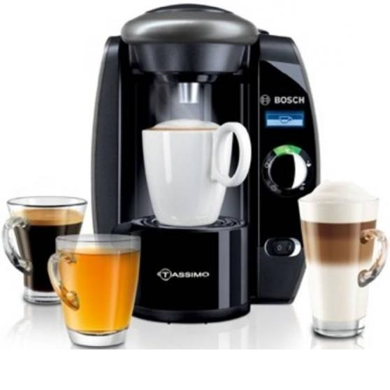 Bosch Tassimo T65 Fidelia Plus TAS6515GB Multi Drink Coffee Machine with LCD Display Around ...