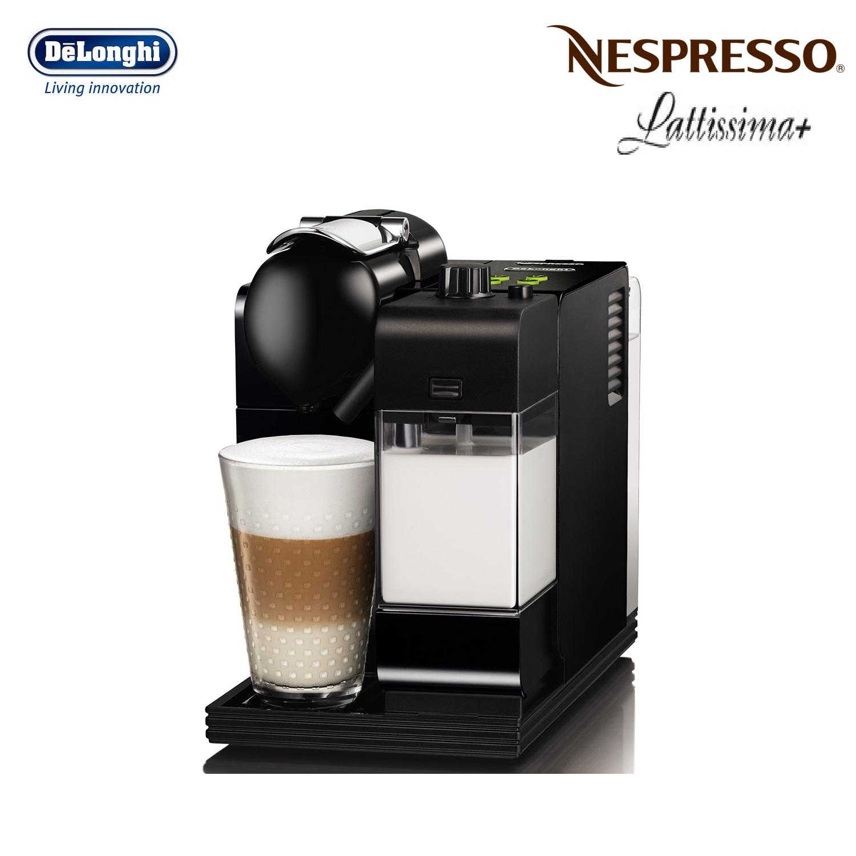 delonghi nespresso lattissima plus en520b black coffee machine around the clock offers. Black Bedroom Furniture Sets. Home Design Ideas