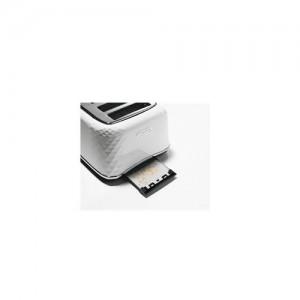 DeLonghi Brillante 4 Slice White Toaster CTJ4003W