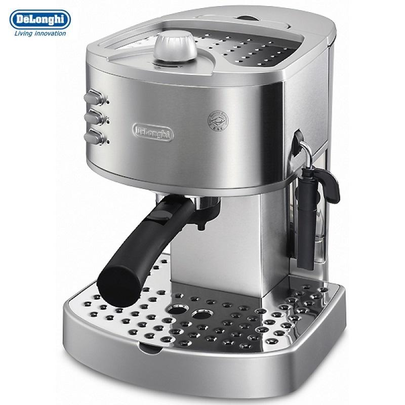 delonghi 15 bar pressure pump espresso cappuccino coffee maker ec330s around the clock offers. Black Bedroom Furniture Sets. Home Design Ideas