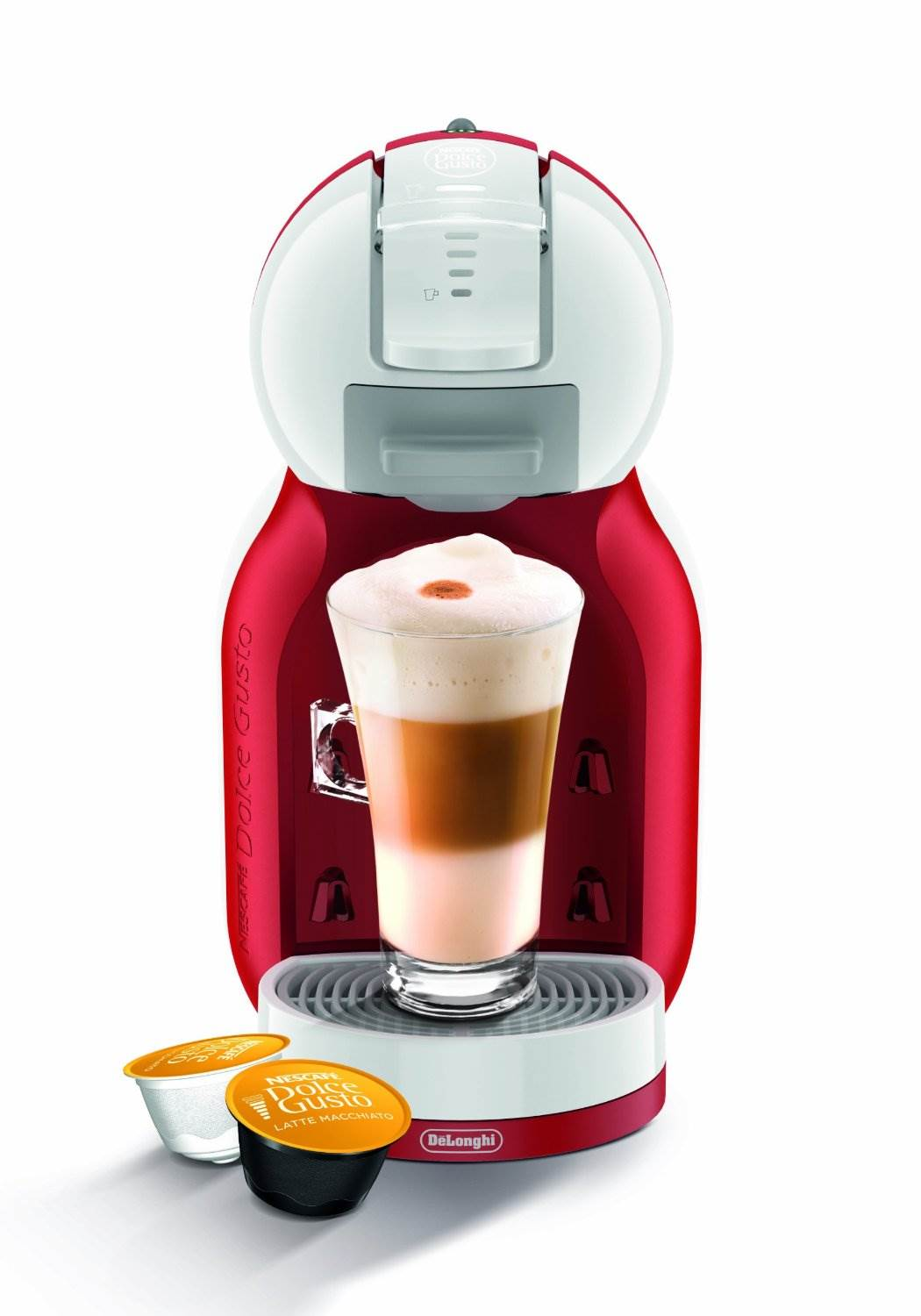 delonghi nescafe dolce gusto mini me automatic machine edg305wr around the clock offers. Black Bedroom Furniture Sets. Home Design Ideas