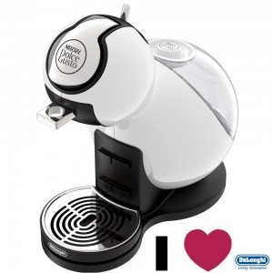 DeLonghi Nescafe Dolce Gusto Melody III Coffee Machine Piano White EDG420W