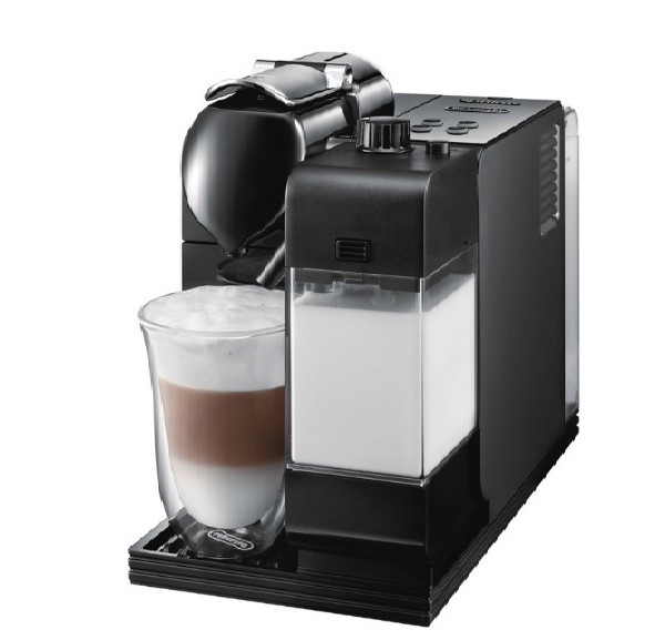 DeLonghi Lattissima Plus Nespresso Capsule Machine Black EN520B