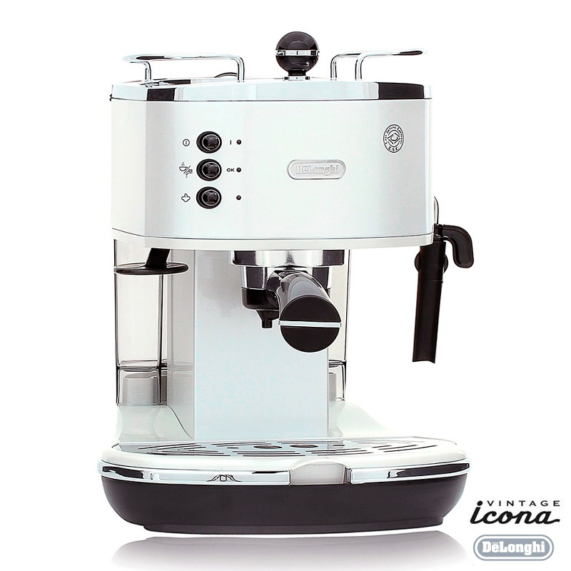 delonghi icona retro pump espresso cappuccino machine. Black Bedroom Furniture Sets. Home Design Ideas