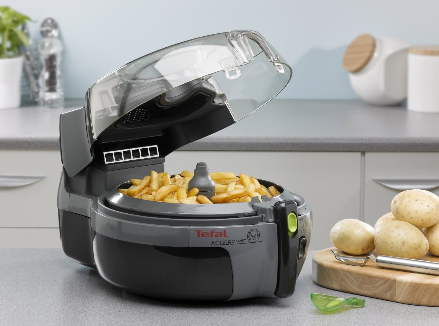Tefal Actifry Family 1 5kg Aw950040 Low Fat Fryer Black