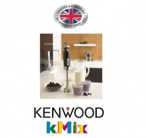 Kenwood kMix Collection Hand Blender with Attachments and Storage HB894 700W