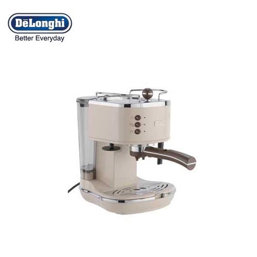 Delonghi Coffee Maker Warranty : DeLonghi ECOV311BG Icona Vintage Espresso and Cappuccino Machine Cream Around The Clock Offers