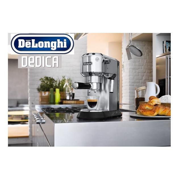 delonghi dedica espresso and cappuccino machine