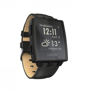 Pebble SmartWatch 401BLR Matte Black