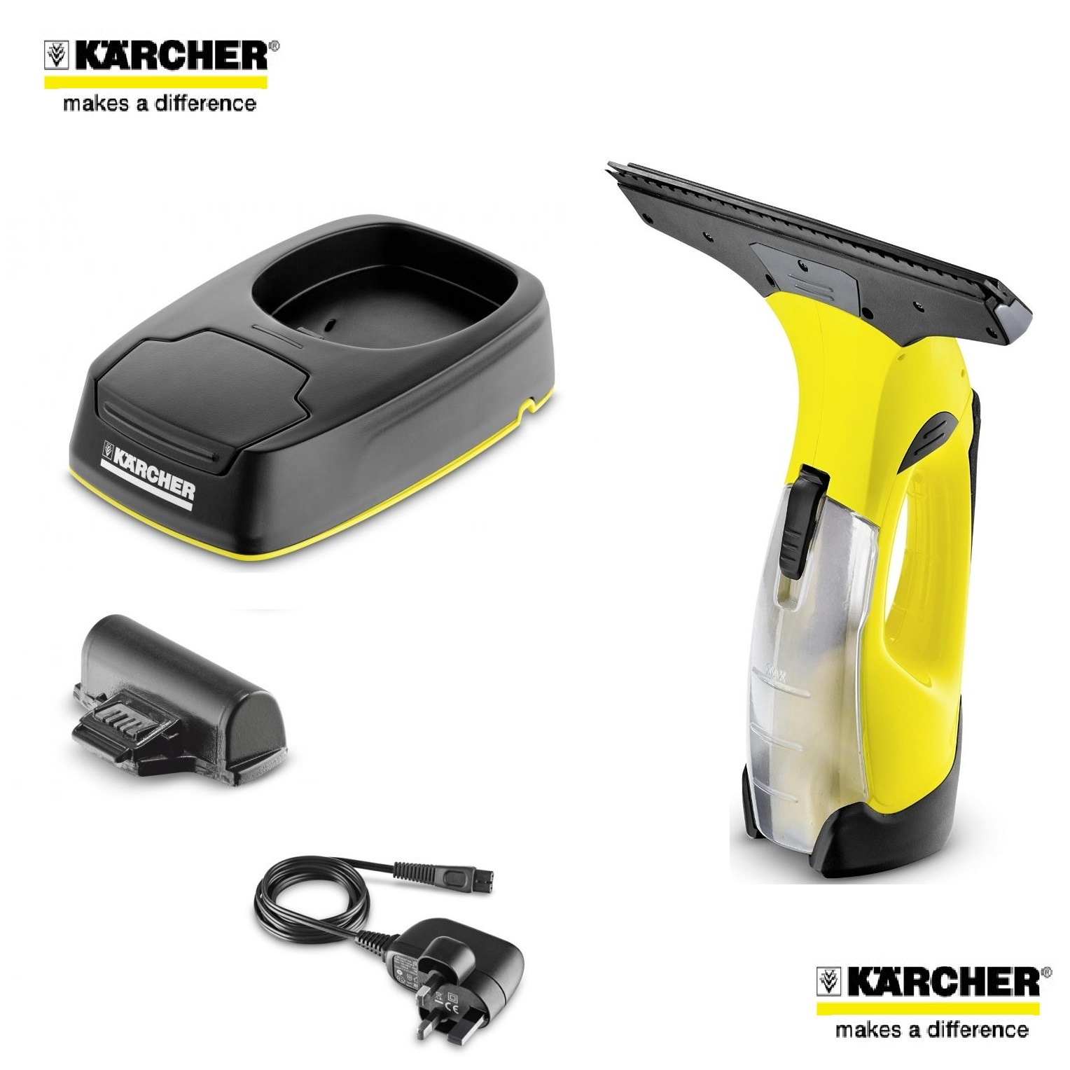 Karcher wv5 premium 2nd generation window vacuum cleaner for Window karcher