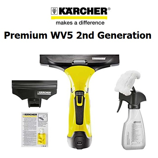 K rcher wv5 premium 2ndgen window vacuum glass cleaner vac - Karcher wv5 premium ...