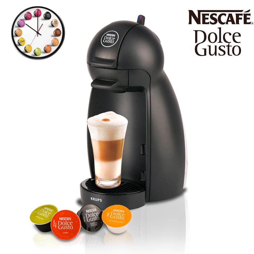 noir n Krups KP100040 piccolo dolce gusto capsule machine à café