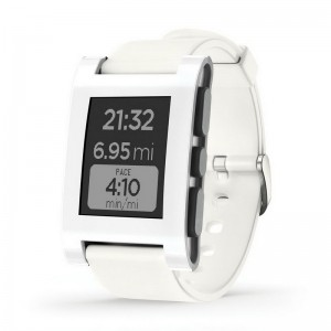 Pebble Smartwatch 301wh White