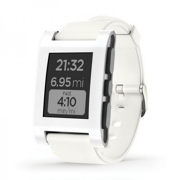 Pebble Smartwatch 301wh White