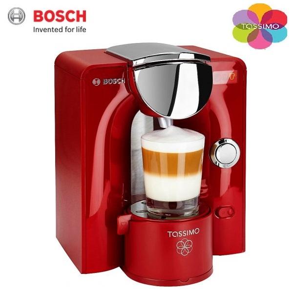 Bosch Coffee Maker Red Cup Light : Bosch Tassimo T55 Charmy Red TAS5546GB Multi Drink Coffee Pod Machine Scarlett Around The ...