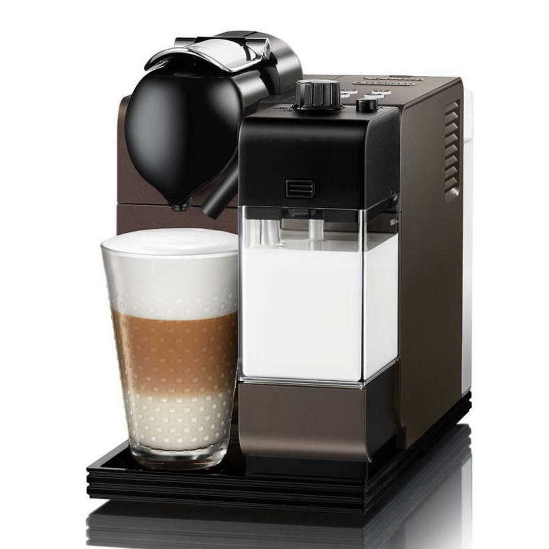 delonghi nespresso lattissima plus en520 db limited edition dark bronze coffee machine around. Black Bedroom Furniture Sets. Home Design Ideas