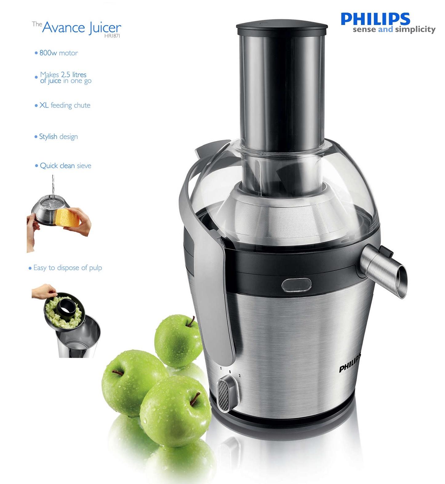 Philips Avance HR187100 Juicer