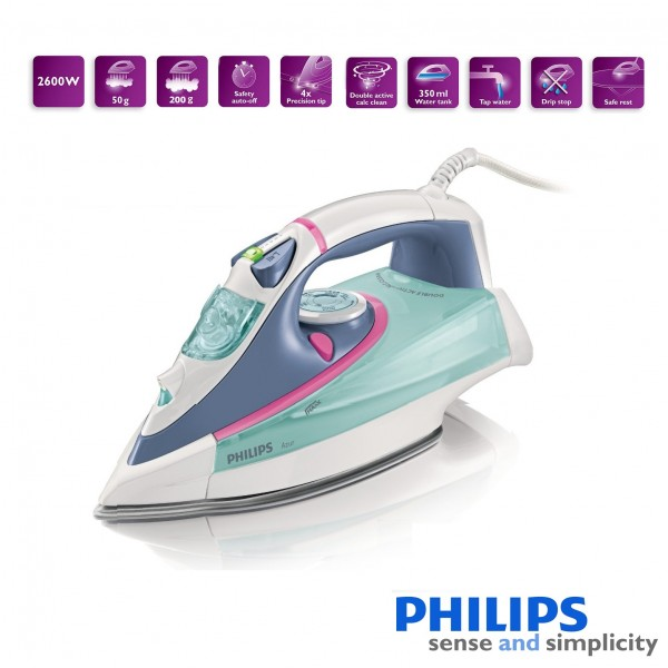 Philips GC4860/25 Azur Steam Iron with Safety Auto Off ...