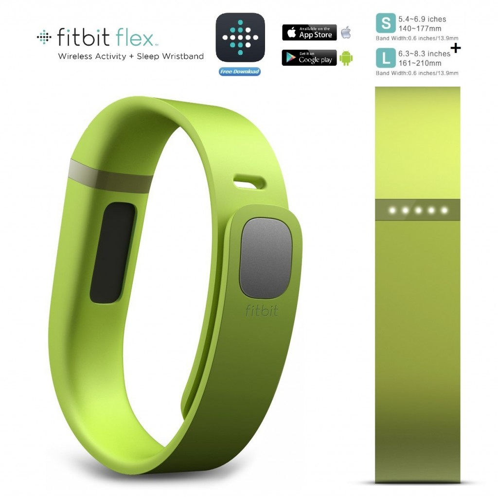 FitBit Flex Wireless Activity & Sleep Tracker Wristband ...