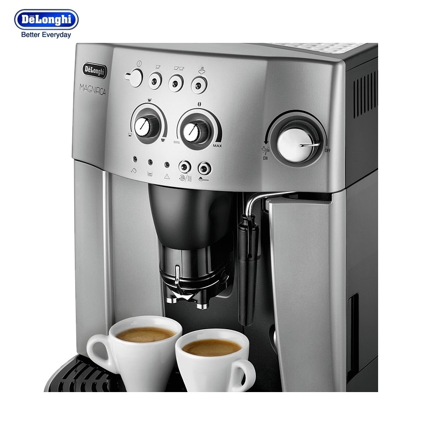 De Longhi Magnifica ESAM4200S Bean-To-Cup Automatic Espresso, Cappuccino and Coffee Machine in ...