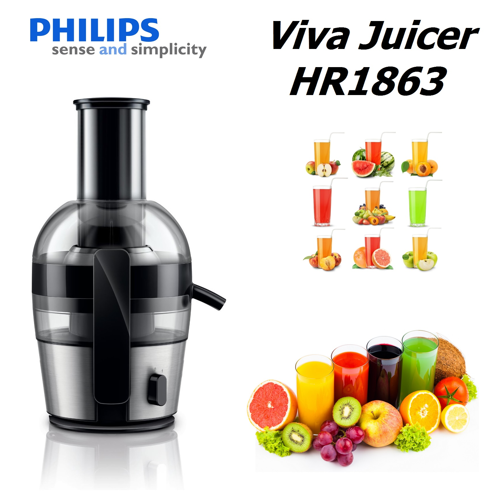Philips HR186301 Viva Collection