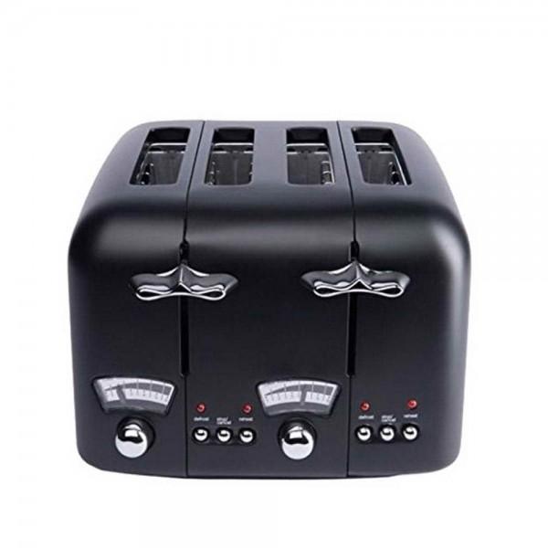 DeLonghi-CT04BK-Argento-4-Slice-Toaster