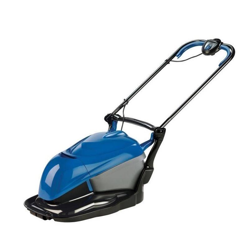 flymo hc350 hover lawn mower 35cm metal blade 22 litre. Black Bedroom Furniture Sets. Home Design Ideas