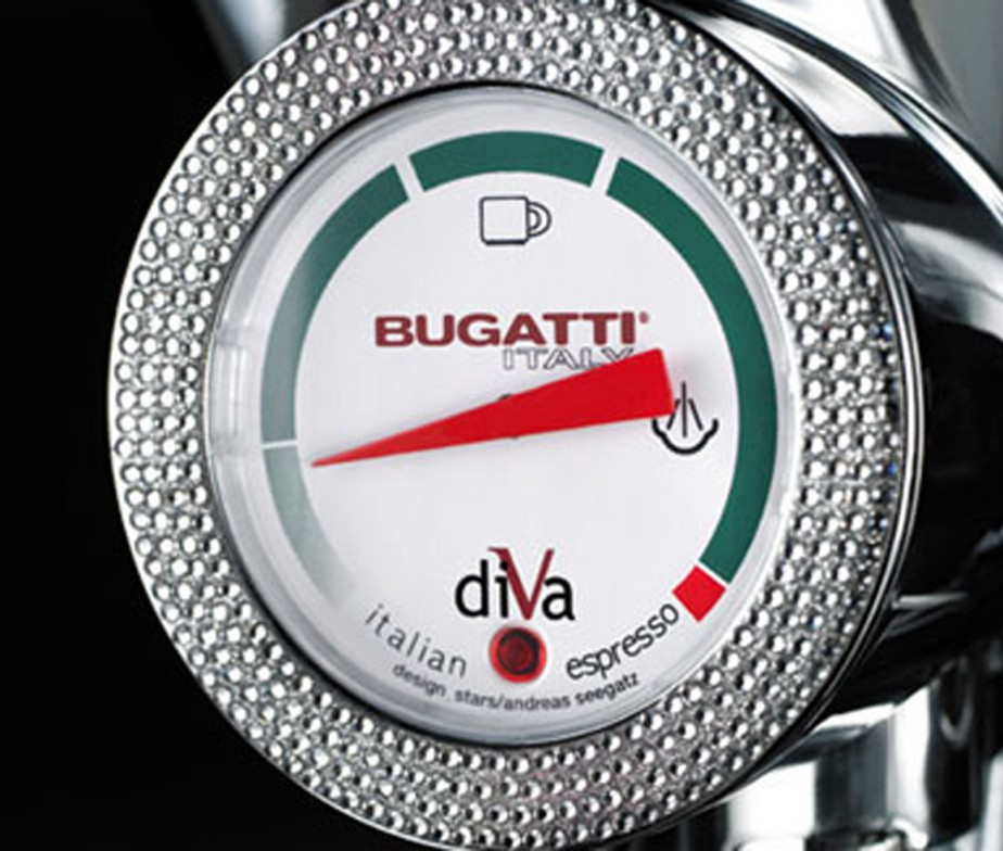 Bugatti Diva Espresso Machine | Around The Clock Offers Bugatti Diva