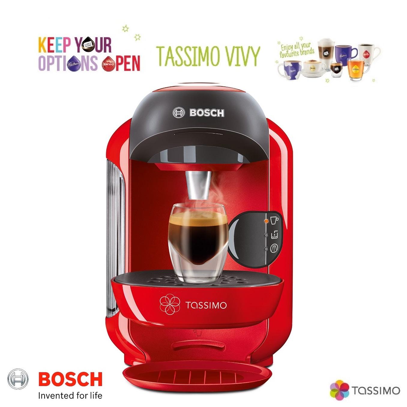 bosch tassimo vivy ii t12 tas1253gb multi hot cold. Black Bedroom Furniture Sets. Home Design Ideas