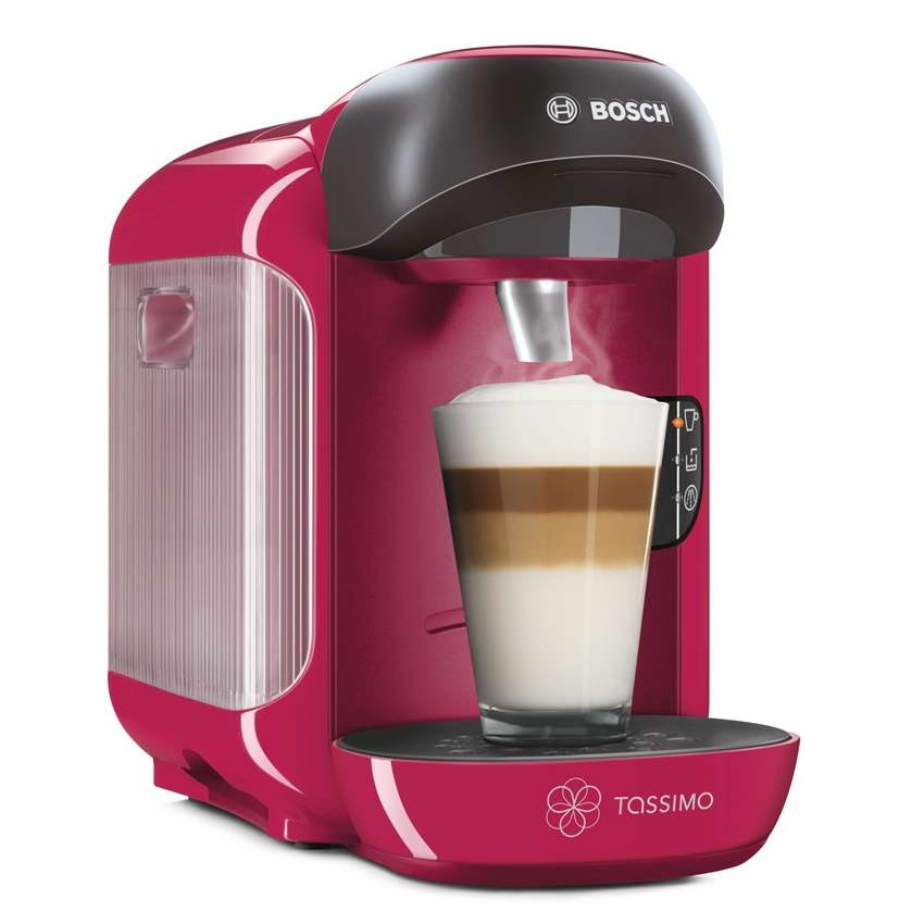 bosch tassimo vivy ii t12 tas1251gb multi drinks coffee machine sweet pink around the clock offers. Black Bedroom Furniture Sets. Home Design Ideas