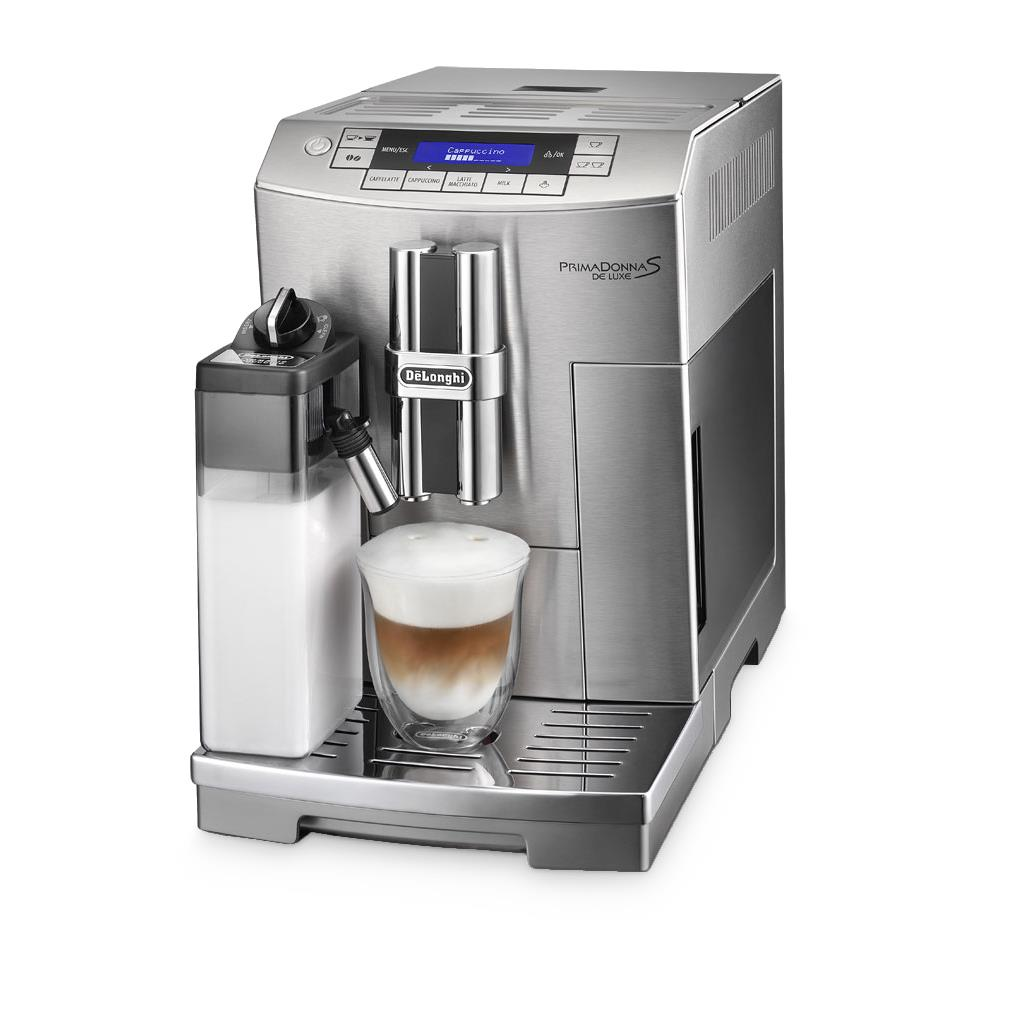 delonghi primadonna s deluxe bean to cup coffee machine around the clock offers. Black Bedroom Furniture Sets. Home Design Ideas