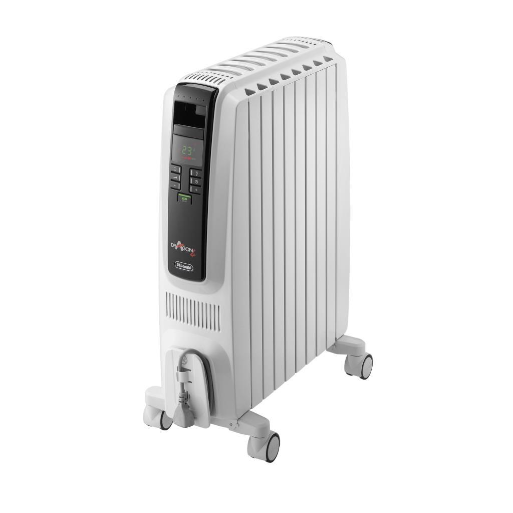 delonghi dragon 4 oil filled radiator heater trd40820e. Black Bedroom Furniture Sets. Home Design Ideas