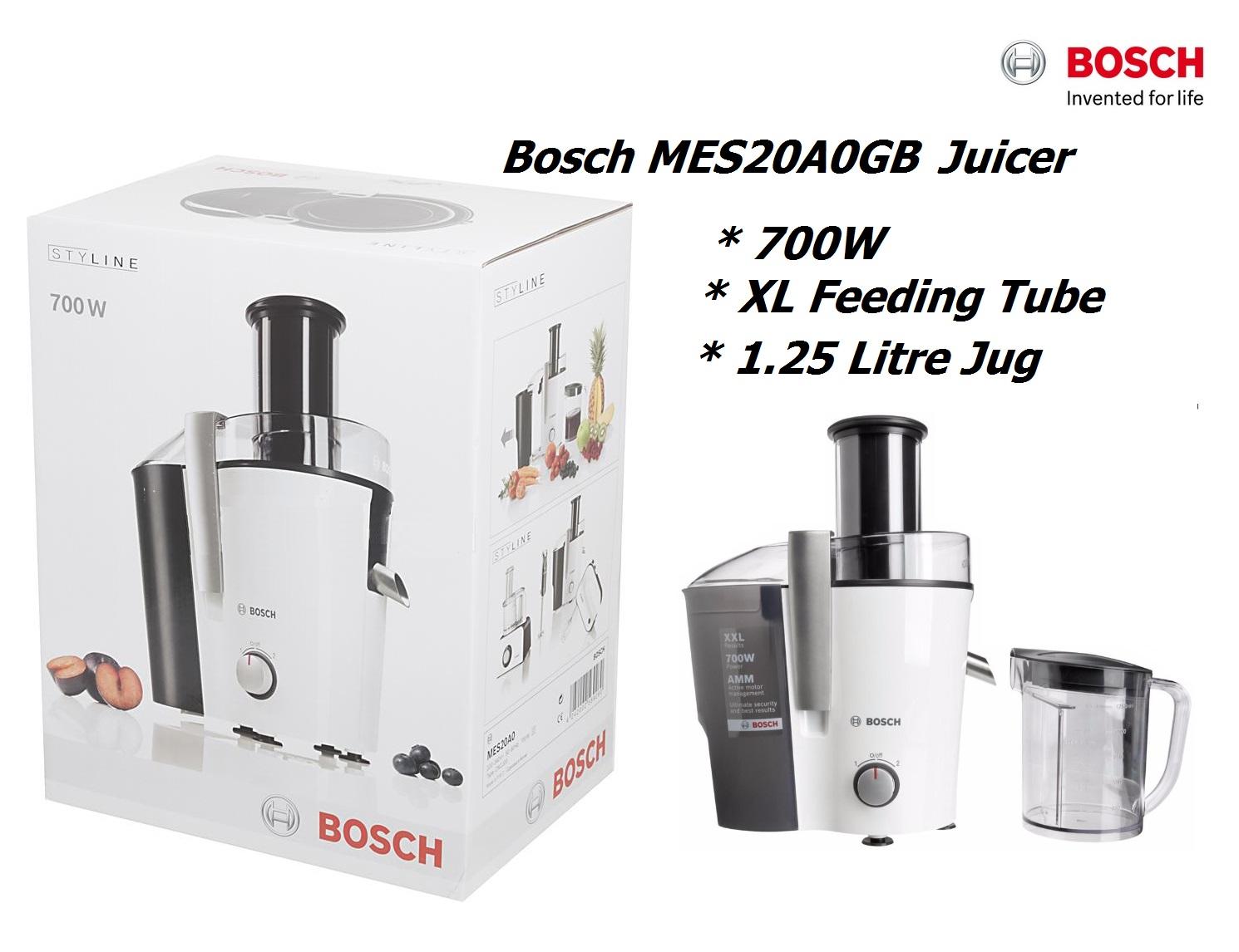 Bosch MES3000GB Juicer, 700 W 1.25 L