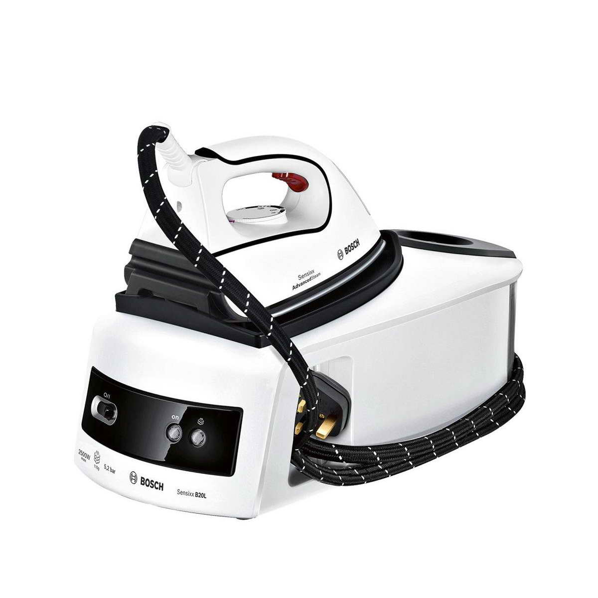 how to clean a steam iron generator