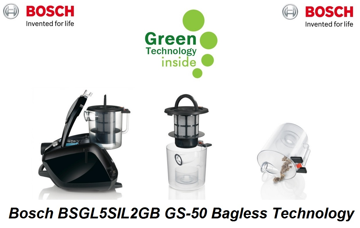 bosch gs50 power silence 2 vacuum bgs5sil2gb around the. Black Bedroom Furniture Sets. Home Design Ideas