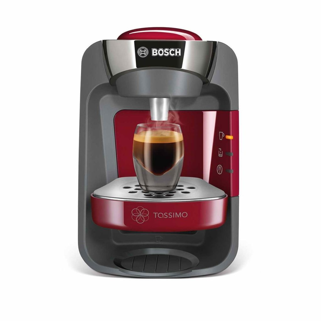 Bosch Tassimo T32 Suny Coffee Pod Machine Red TAS3203GB ...