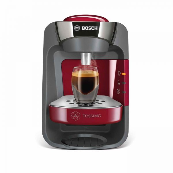 Bosch Tassimo T32 Suny Coffee Pod Machine Red Tas3203gb