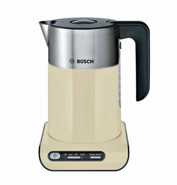 Bosch TWK8637PGB Styline Kettle Cream