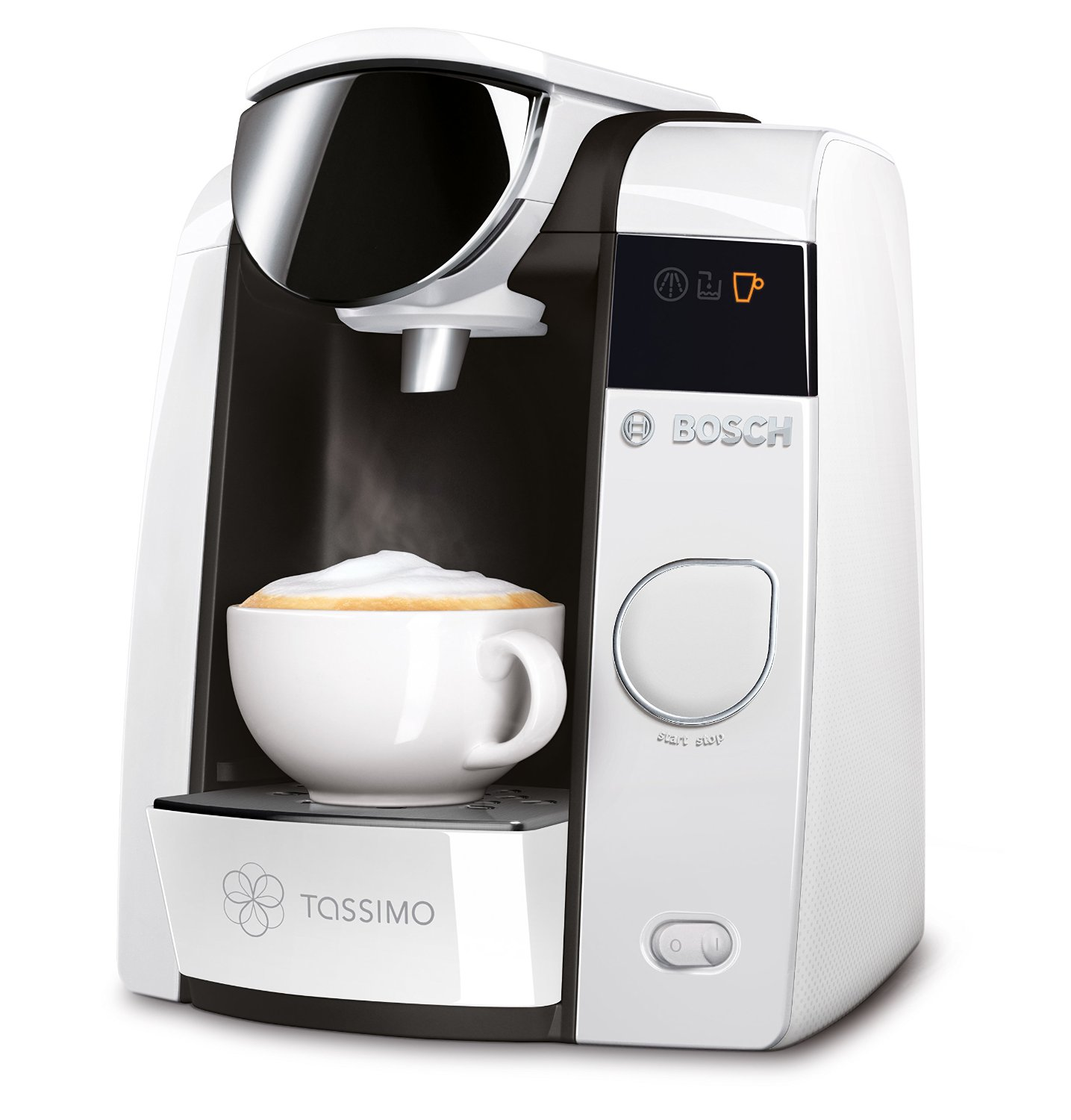 bosch tassimo joy 2 t45 multi drinks pod machine tas4504gb white around the clock offers. Black Bedroom Furniture Sets. Home Design Ideas