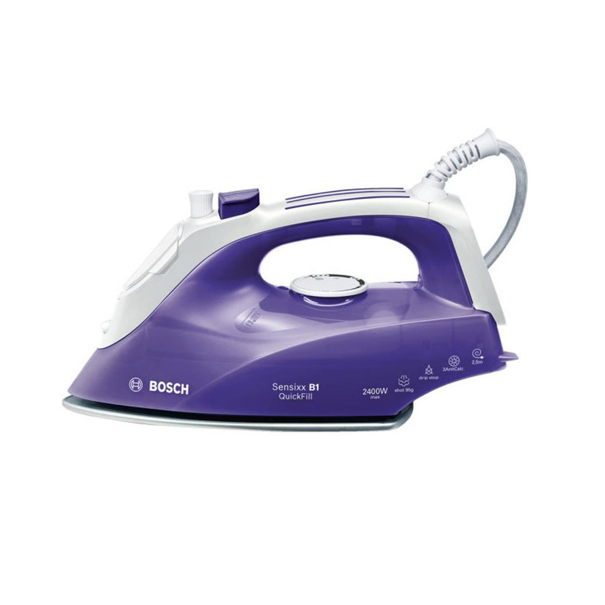 No Steam Iron ~ Bosch sensixx b quick fill steam iron w purple