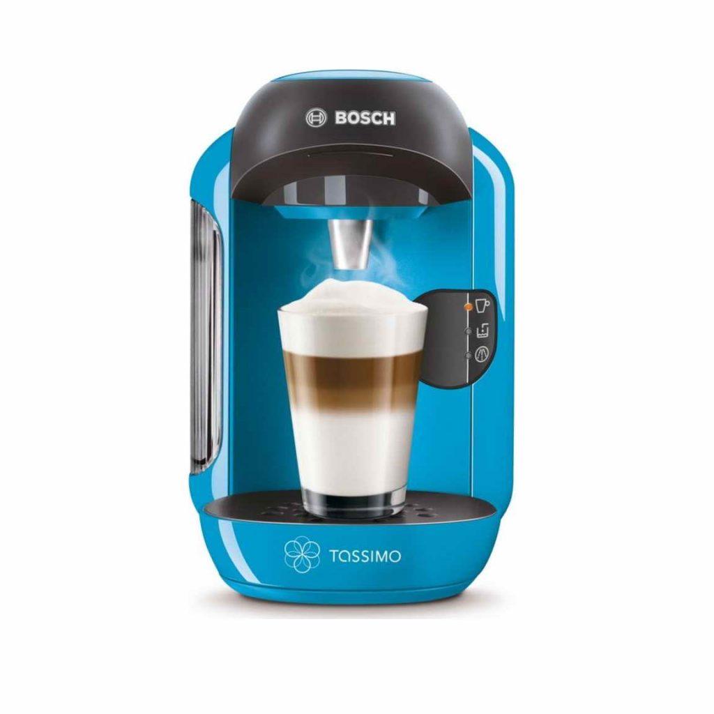 bosch tassimo vivy ii t12 multi drinks pod coffee machine sky blue tas1255gb around the clock. Black Bedroom Furniture Sets. Home Design Ideas